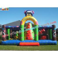 Wholesale Commercial Grade Inflatable Amusement Park Kids Jumping Bouncers , PVC Tarpaulin from china suppliers
