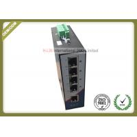Buy cheap 10/100M railed type unmanaged Industrial Switch with 5 RJ45 ethernet port from wholesalers