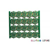Buy cheap Controller Printed Circuit Board PCB 4 Layers 1.2mm Thickness ENIG Surface Treatment from wholesalers