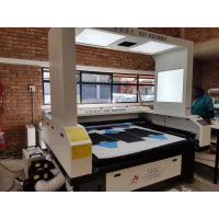 Wholesale 150 Watts CO2 Vision Laser Cutting Machine For Custom Cycling Jerseys JHX - 180100S from china suppliers