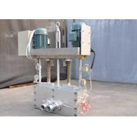 Wholesale Electrical Screen Changers Plastic , 130 Screw Dia 240*240 Plastic Extrusion Screen Changer from china suppliers