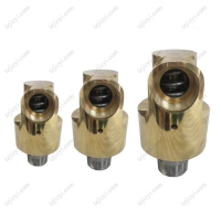 Wholesale Monoflow high speed hydraulic cooling water rotary joint thead connection from china suppliers