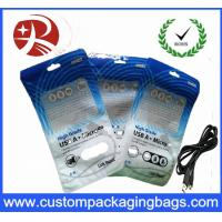 Buy cheap Retail Plastic Package Bag / Boxes For Micro USB Charger Data Sync from wholesalers