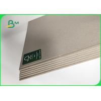 Buy cheap Grade AA / AAA Grey Chip Board Thickness Customized 1000mm Recycled Paper from wholesalers