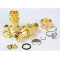 Wholesale Brass Hydraulic Quick Couplers Under Pressure NPTF Female Thread For Water from china suppliers