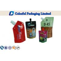 Wholesale liquid detergent aluminium Stand Up Pouch with Spout , Logo Customized from china suppliers
