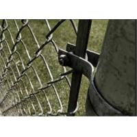 Wholesale 120mm 1-3/8'' Galvanized Steel Tension Band Chain Link Fence Fittings from china suppliers