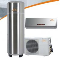 Wholesale Cooling&heating  home use heat pump for hot water + cooling + heating with 2P Rotary compressor type  home use heat pump from china suppliers