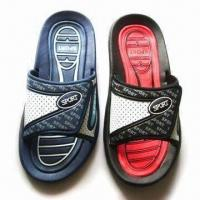 Buy cheap Comfortable Men's Flip Flops Made of EVA Sole, Various Colors are Available from wholesalers