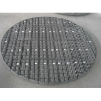 China FREE SAMPLE stainless steel demister/ square hole shape demister pad/mist eliminator for pleasure vessel on sale