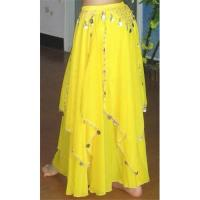 Wholesale Belly Dance Skirt, Dance Dress with coins from china suppliers