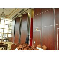 China Red VIP Room Dividers Acoustic Room Dividers Customers Own Material on sale