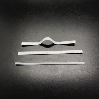 Wholesale 0.5mm Galvanized Steel 3mm Nose Bridge Clamp Single Core For Face Mask Production from china suppliers