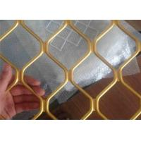 Wholesale Heavy Duty Diamond Expanded Metal Mesh Decorative Aluminum Spray Paint 4' x 8' from china suppliers