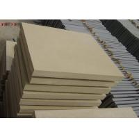 China Natural Stone Subway Tile , Interior Yellow Sandstone Wall Tiles For Living Room on sale