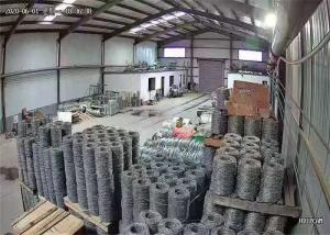 Wholesale 18 Gauge Reverse Twisted Barbed 2.5mm Razor Wire Concertina Hot Dipped Galvanized from china suppliers