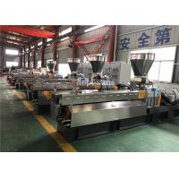 Wholesale Conical Twin Screw Extruder / Plastic Extrusion Plant Anti Interference from china suppliers