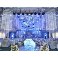 Buy cheap Luxury Wedding Tent with Lighting Truss and Stage system for Sale from wholesalers