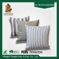 Wholesale Home Indoor Decorative Modern Linen Canvas Sofa Throw Pillow Cushion Covers 43x43cm from china suppliers