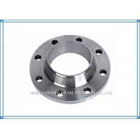 Wholesale Welded PN16 / 10 Flange Stainless Steel Pipe Fittings ASTM A182 WN / SO / BL / SW from china suppliers