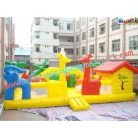 Wholesale Custom Giant Inflatable Amusement Park with Thick D Anchor Point for Child, Kids Playing from china suppliers