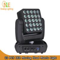 Wholesale Osram LED stage light 25x15w rgbw 4 in 1 beam wash matrix led moving head light from china suppliers