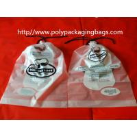 Wholesale Garment / Pillow Packaging Poly Bag Clear Drawstring Plastic Bags from china suppliers