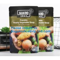 Wholesale Soup Pouch Bags, ALTERNATIVE DAIRY CO.LISA'SNAKED CUISINEBEAN SUPREMEVEGIE DELIGHTS FOOD SERVICE from china suppliers