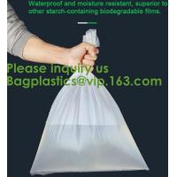 Wholesale Corn Starch Bag Compostable Biodegradable Plastic Bags Corn Starch Based Biodegradable Bag Plastic from china suppliers