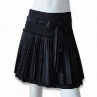 Wholesale Women's Silk Pleated Skirt from china suppliers