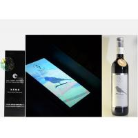 Wholesale Silver Foil Embossed Wine Label Stickers , Custom Wine Bottle Labels For Security Mark from china suppliers