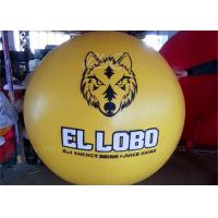Wholesale 0.18mm PVC Party Inflatable Helium Balloons Inflatable Yellow Flying Balloon from china suppliers