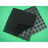 Wholesale HDPE Dimpled Drainage Board , Composite Geotextiles And Geomembranes  Thickness 0.5mm from china suppliers
