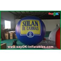 Wholesale Outdoor 2.5M Inflatable Helium Balloon Blue Zeppelin PVC Pageant Event from china suppliers