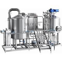 Wholesale home made beer brewing pots 100l 50 gallon stainless steel pot from china suppliers