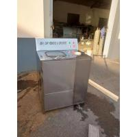 Wholesale low price semi-automatic/manual 5 gallon bottle de-capping washing machine 304 stainless steel from china suppliers