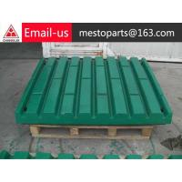 China metal crusher alloy liner manufacturers on sale