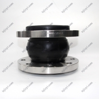 Wholesale EPDM NR NBR rubber DIN ANIS carbon steel flange type single sphere rubber expansion joint from china suppliers