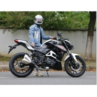 Buy cheap Air Cooled Adult 200cc High Powered Motorcycles With 1430mm WheelBase from wholesalers