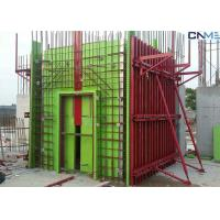 Buy cheap Adjustable Wall Steel Formwork System Panel Strut , Flexible Concrete Formwork from wholesalers