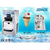 Buy cheap 3 Flavors Table Top Commercial Ice Cream Machine With Air Pump Feed Feed from wholesalers