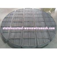 Wholesale Duplex Steel Knitmesh Demister , Moisture Eliminator Filter High Impact Strength from china suppliers