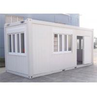 Wholesale Home Decoration Storage Container Houses With Steel Tube / Bending Plate from china suppliers