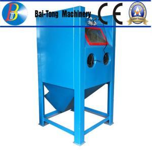 Buy cheap Stainless Steel Body Wet Abrasive Blasting Cabinet , Wet Sand Blasting Machine from wholesalers