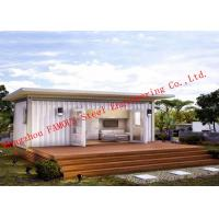 Wholesale Lightweight 40ft Prefab Container House For Living Accommodation With Painted Surface from china suppliers