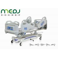 Wholesale Five Functions Electric Hospital Bed With Side Rails , MJSD04-05 Adjustable Hospital Beds from china suppliers