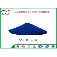 Wholesale Eco Friendly Blue Vat Dye CI Vat Blue 18 Navy Blue Ra Dyeing Of Cotton from china suppliers