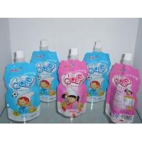 Wholesale Liquid Packaging Stand Up Pouch Bags For Fruit Juice And Puree from china suppliers