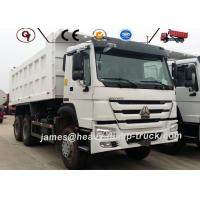 Wholesale Howo Heavy Dump Truck 6x4 336 371 10 Wheeler Mini Tipper Truck In White Color from china suppliers