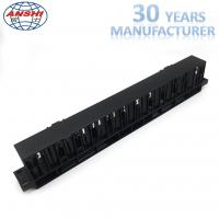 Wholesale Networking Rack Mount Horizontal Cable Management 1u 19 Inch With 12 Ports from china suppliers